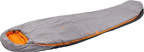 McKINLEY Unisex– Erwachsene Trekker S 10 IDE I Schlafsack, GREYDARK/ORANGE, 175R