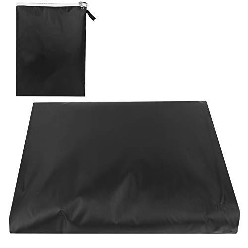 YJZO Protector de muebles de tela Oxford impermeable a prueba de polvo protector de la cubierta de los muebles para el patio al aire libre del jardín