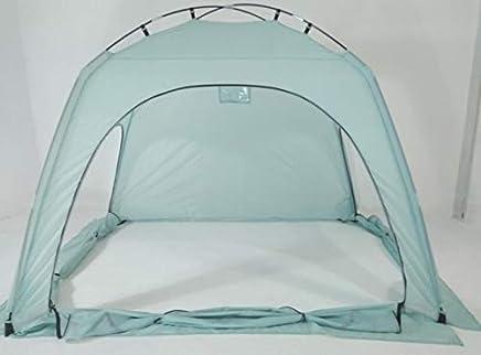 室内保暖帐篷 隐私 游戏帐篷 在床上 遮光 * 舒适 Litebluelarge_1pc