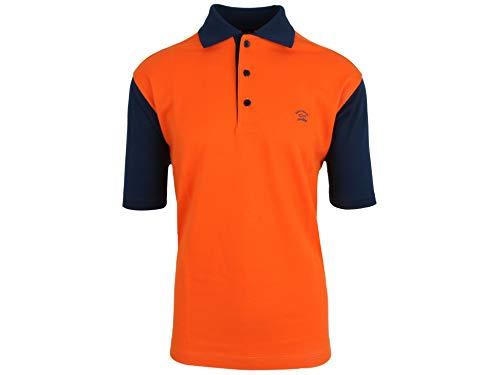 Paul & Shark Yachting Poloshirt Polo Hemd Shirt Größe L Orange Baumwolle