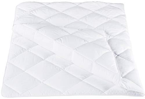 ZOLLNER Bettdecke 135 x 200 cm (weitere verfügbar), Mikrofaser, für Allergiker