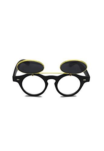 Óculos de sol Sherlock Grungetteria Adulto Unissex Preto Único