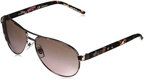 Ralph Lauren RALPH BY 0RA4004 Gafas de sol, Rose Gold, 59 para Mujer