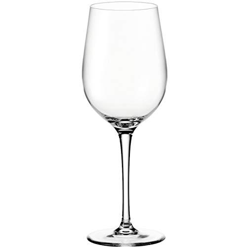 Leonardo Ciao+ Rotwein-Glas, Rotwein-Kelch mit gezogenem Stiel, spülmaschinenfeste Wein-Gläser, 6er Set, 430 ml, 061448