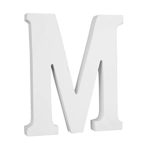 KISSION Große Wand Buchstaben, Hängende Wand 26 Buchstaben Freies Stehendes Alphabet Wort Braut Buchstaben Spielzeug für Hochzeit Geburtstag Home Schlafzimmer Büro Dekor