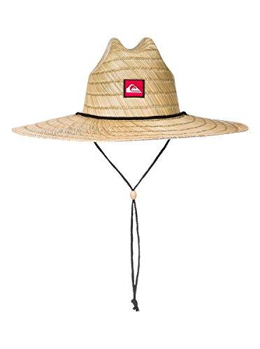 QUIKSILVER Herren Pierside Straw Sun Hat Sunhat, Natur, Small/Medium