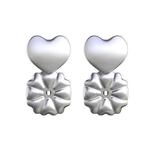 PAADIYA Boomly Damen Ziemlich Ohrringlifter Einstellbar Hypoallergen Sichere Ohrringaufzüge Überzogen Ohrring Rücken Ohrmuschelheber Ohrring Zubehör