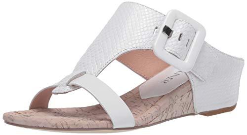 Donald J Pliner womens Wedge Sandal, White, 9.5 US