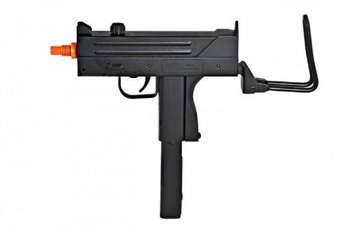 bbtac m42f airsoft smg folding wire stock 200 fps spring gun with 26 round clip/magazine(Airsoft Gun)