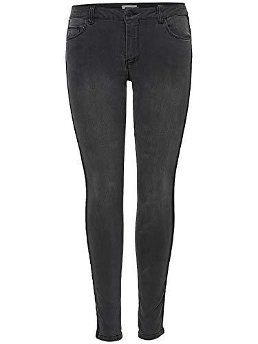 ONLY dames jeans Skinny Carmen REG SK Velvet Tape 15163257 W29 l30 zwart