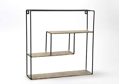 Amadeus - Petite étagère carrée en métal 45x45 cm