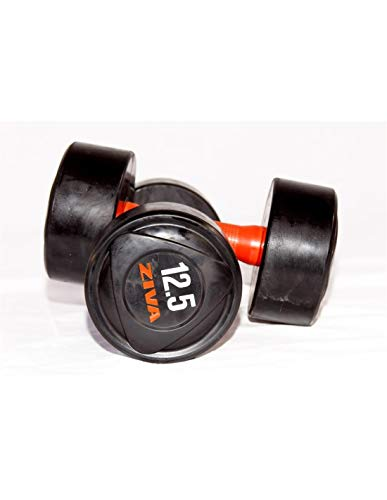 Kit Musculacion 12.5 Kg - Mancuerna Ziva Agarre Uretano