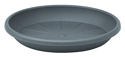 Geli Untersetzer CYLINDRO rund aus Kunststoff, Farbe:anthrazit, Durchmesser:45 cm
