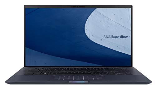 ASUS ExpertBook B9450FA-BM0165R Black Notebook 35.6 cm (14') 1920 x 1080 pixels 10th gen Intel Core i7 8 GB LPDDR3-SDRAM 1000 GB SSD Wi-Fi 6 (802.11ax) Windows 10 Pro ExpertBook B9450FA-