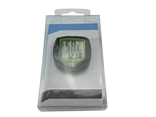 XIAOHUA-UK Velocímetro de Bicicleta, odómetro inalámbrico Universal Impermeable odómetro cronógrafo de Bicicleta cronógrafo Manual