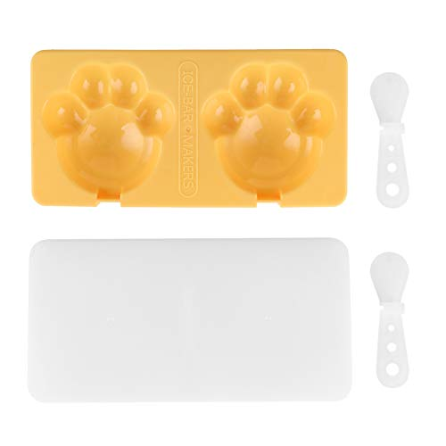 Ice Bar, Non‑stick and BPA‑free Safe and Ice Cream Making Food‑grade ABS Material for Kitchen for Home(yellow)