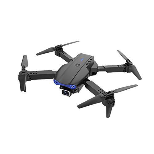 Drohne Mini-Drohne Doppelkamera Kamera K3 4K HD Doppelkamera WiFi FPV Smart Selfie RC UAV Faltbarer Hubschrauber mit Batterie, Fernbedienung,4 Ersatzlüfterblätter,USB-Kabel,Schraubendreher,Handbuch