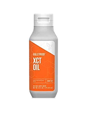 Bulletproof XCT Oil, Perfect for Keto and Paleo Diet, 100% Non-GMO Premium C8 C10 MCT Oil, Ketogenic Friendly, Responsibly Sourced from Coconuts Only, Made in The USA