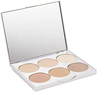 La Bella Donna   Clean Color Multi-Use Palette, Formulated With Pure & Clean Ingredients - Eyes to Blush, Contour to Highlight, Natural Mineral Makeup Kit, No Parabens or Fragrance - Positano