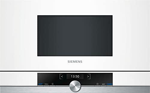 Siemens BF634LGW1 iQ700 Mikrowelle / 900 W / 21 L Garraum / LED-Innenbeleuchtung / Weiß
