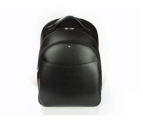 Montblanc MB Sartorial Backpack Medium 3 Comp Mochila, Adultos Unisex, BK (Negro), Talla Única