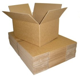 Triplast 229 x 152 x 152mm Small Single Wall 9x6x6' Shipping Mailing Postal Gift Cuboid Cardboard Boxes (Pack of 25)