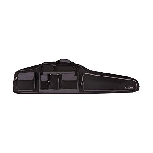 Allen Company Gear Fit MOA 55 inch Rifle Case, Black and Gray