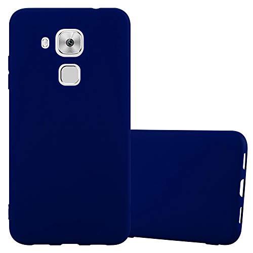 Cadorabo Funda para Huawei Nova Plus en Candy Azul Oscuro - Cubierta Proteccíon de Silicona TPU Delgada e Flexible con Antichoque - Gel Case Cover Carcasa Ligera