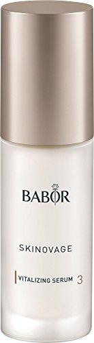 BABOR SKINOVAGE Vitalizing Serum, belebende Gesichtspflege für fahle und trockene Haut, Intensivpflege, für mehr Elastizität, Anti Aging, 1 x 30 ml