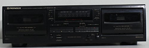 Best Price Pioneer CT-W4000 CTW4000 Double Cassette Tape Player Recorder