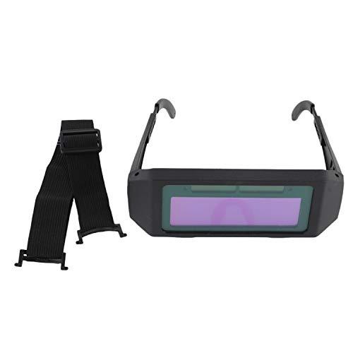 Lesueur Protectora de Soldadura de Oscurecimiento Automático Solar Gafas para Soldador Tapa de Soldadura
