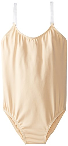 Capezio Big Girls' Over's and Under Camisole Leotard, Nude, Intermediate