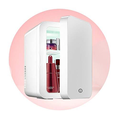 Mini refrigerador cosmético portátil para el cuidado de la piel de 8 litros, controlador de temperatura, iluminación led interior, utilizado para maquillaje y cuidado de la piel, hogares, automóviles,