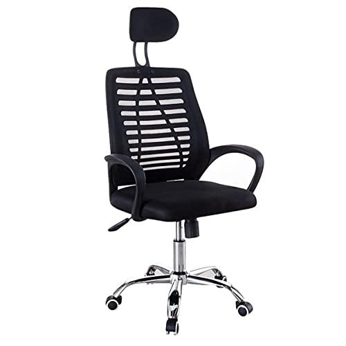 Sedia da ufficio regolabile Sedia girevole ergonomica schienale in rete Poltrona per computer Sedia da gioco Tavolo e sedia con poggiatesta