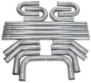 "JEGS Street Rod Muscle Car Diameter 2.5"" Alumini Kit 推奨 市場 Exhaust"