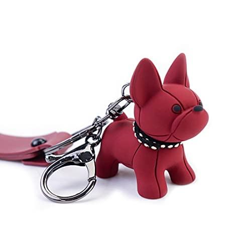 Dog Keychain - Puppy Dog Keychain, PVC Cute Keychain Dog,Dog Themed gifts for Women Car Keys Girl Girlfriend