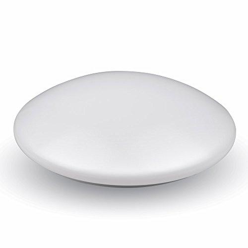 V-TAC SKU.5563plafón superficie, 12W vt-8031, plástico, y otro MATERIAUX, 12W, blanco, profundidad: 80mm