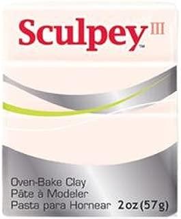 Sculpey Bulk Buy Polyform Sculpey III Polymer Clay 2 Ounces Beige S302-093 (5-Pack)