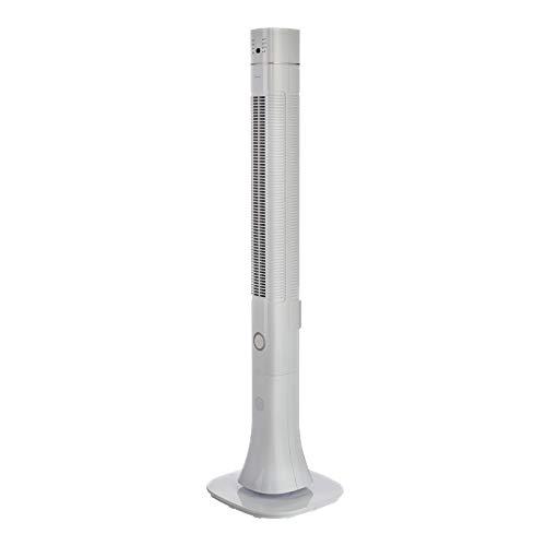Bimar VC119 Ventilatore Colonna Ionizzante con Bluetooth Speaker da 120cm, Ventilatore a Colonna con Selettore 3 Velocità 60W, Ventilatore con Telecomando, Ionizzatore, Oscillazione Destra Sinistra