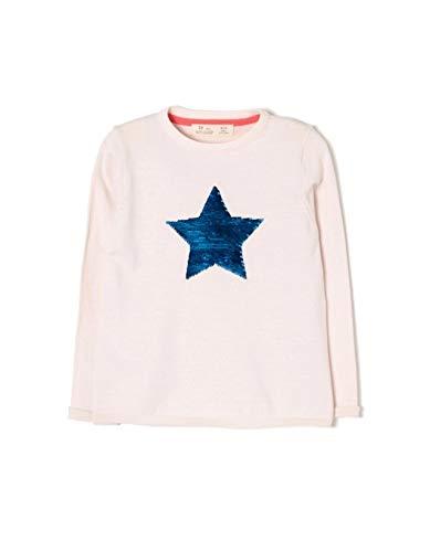 ZIPPY ZG0201_455_4 Chaqueta, Rosa (Heavenly Pink 3137), (Tamaño del Fabricante:4/5) para Niñas