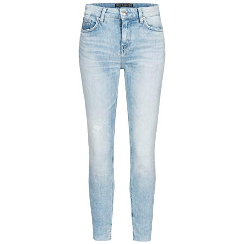 Drykorn Jeans Need in Destroyed-Optik Skinny FIT 26-32 hellblau