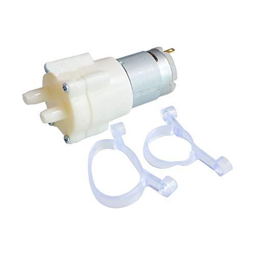 DollaTek 2 stuks DC 12V 365 motor dispenser pomp grote circulatie centrifugaalpomp magnetische waterpomp
