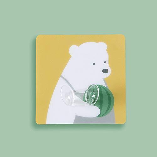 Alician New Cartoon Wandspeicher Hängehaken für Netzstecker Steckdosenhalter Home Office Bär