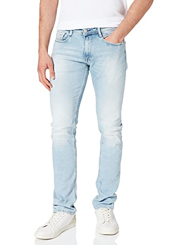REPLAY Rocco Aged Jeans, 011 Superlight Blue, 31 W / 32 L para Hombre