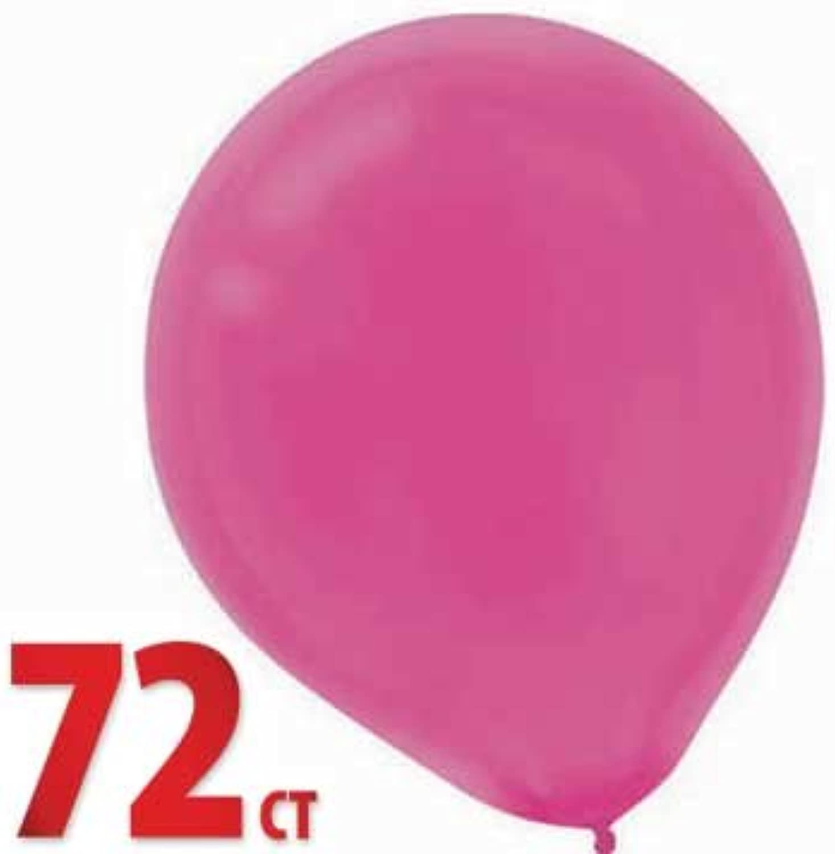 Magenta 12 Latex Balloons, 72ct