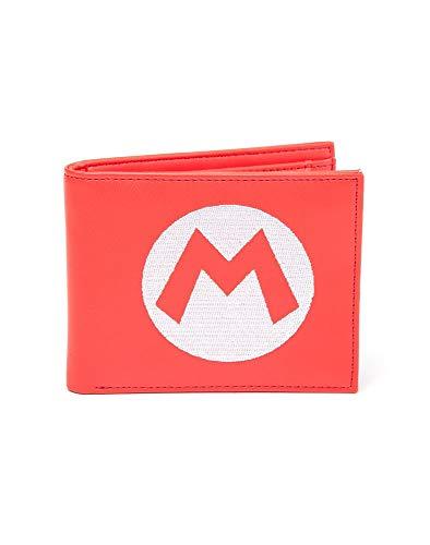 Bioworld Nintendo - Funda para Tarjeta de crédito, 17 cm, Rojo (Rojo) - BIO-MW010205NTN