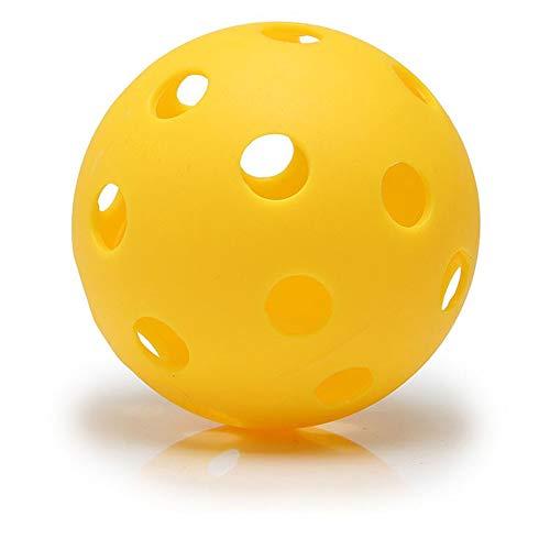 Fliyeong Pickleball Balls Professional Patented 26 Hole Design Pickleball Balls Indoor Outdoor Pickleballs High vis Optic Yellow Pickleball Balls USAPA Approved Pickleball Balls
