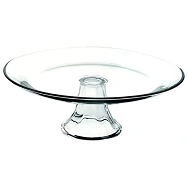 Anchor Hocking Presence Crystal Tiered Serving Platter, 13 inch