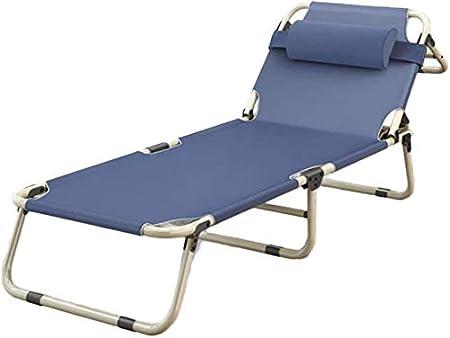 LSYOA Aire Libre Plegable Cama de Camping, Portátil Compacta ...