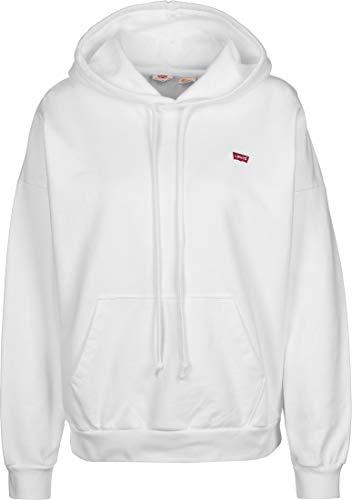 Levi's 2020 Hoodie Capucha, Blanco (White + 0012), Large para Mujer